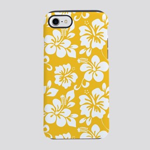 Yellow Hawaiian Hibiscus iPhone 8/7 Tough Case